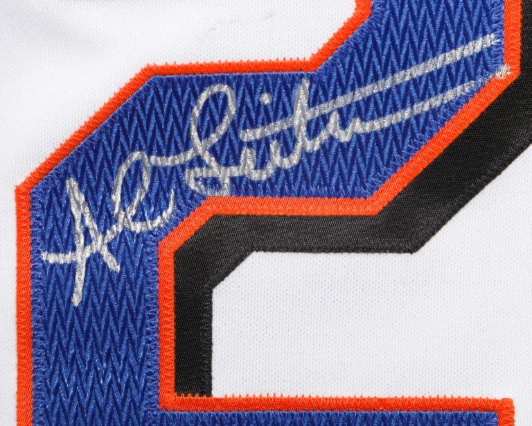 Al Leiter Autographed 9/11 Memorial  Jersey - Autograph Detail
