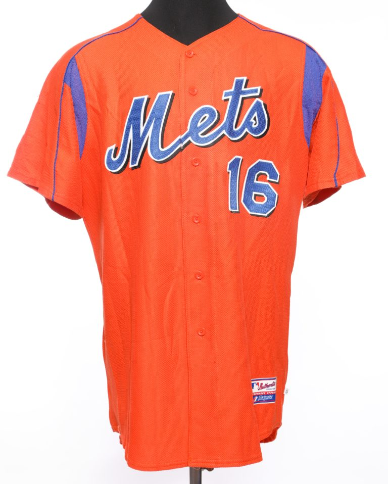 David Cone Autographed Batting Practice Jersey - Front