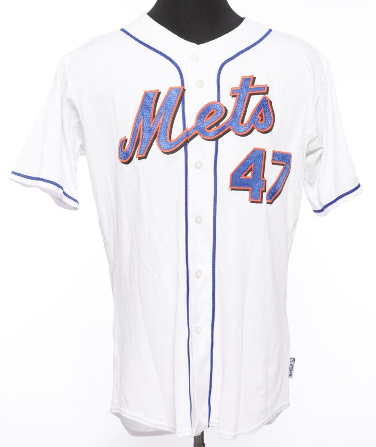 Tom Glavine Autographed Mets Jersey
