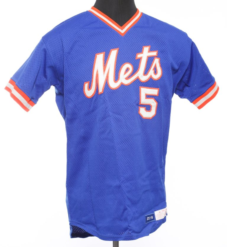 Davey Johnson Autographed Mets Jersey