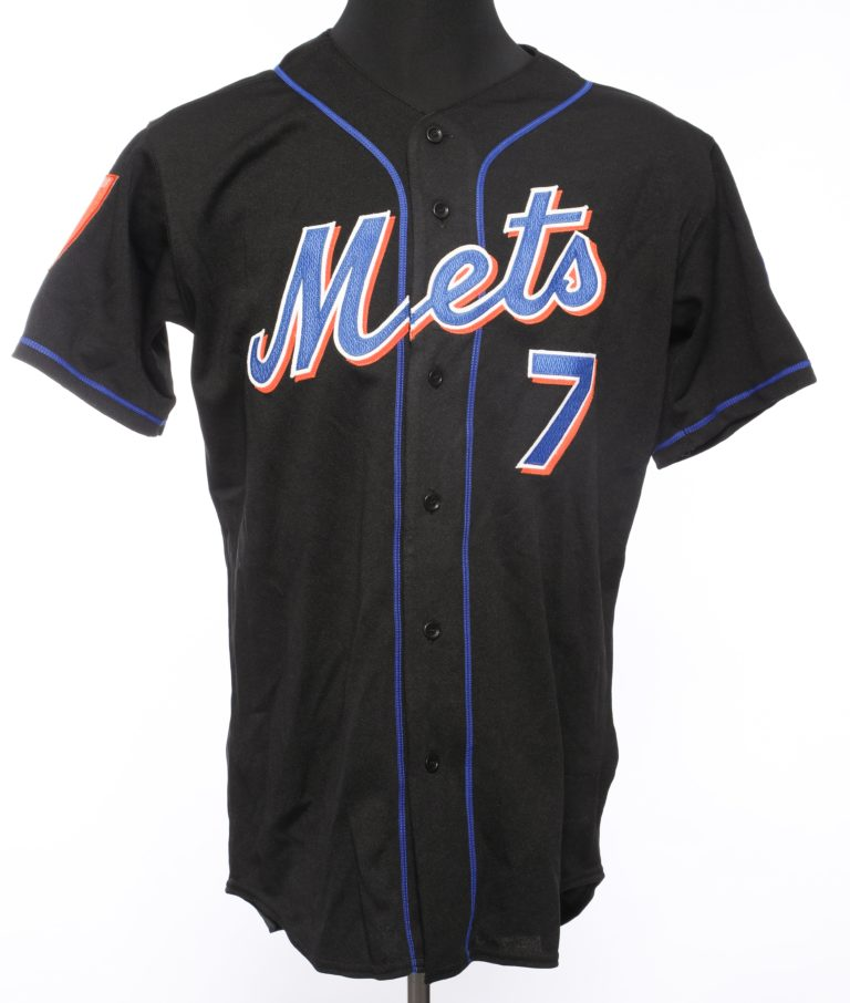 Jose Reyes Autographed 2004 Road Jersey