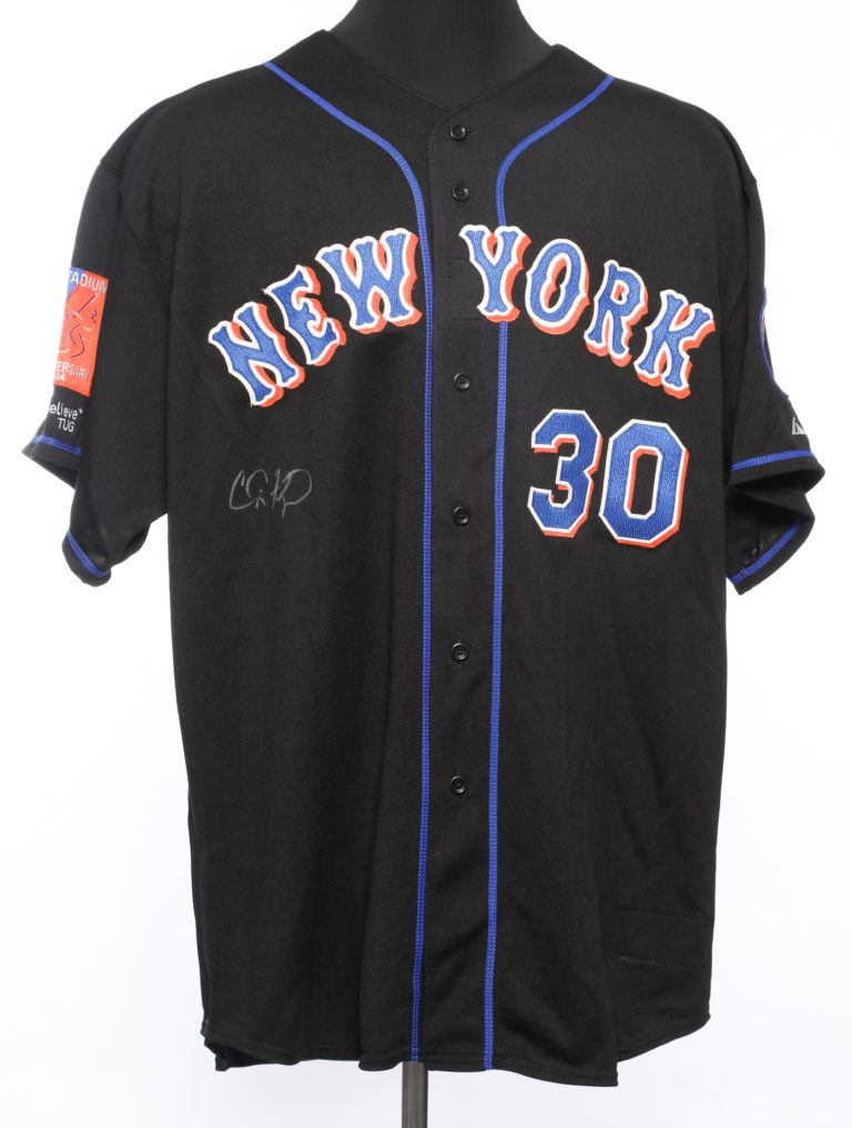 Cliff Floyd Autographed Road Jersey