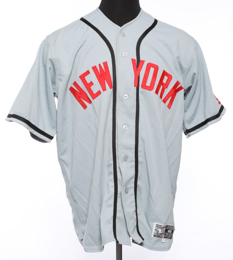 Beltran Autographed New York Cubans Jersey - Front
