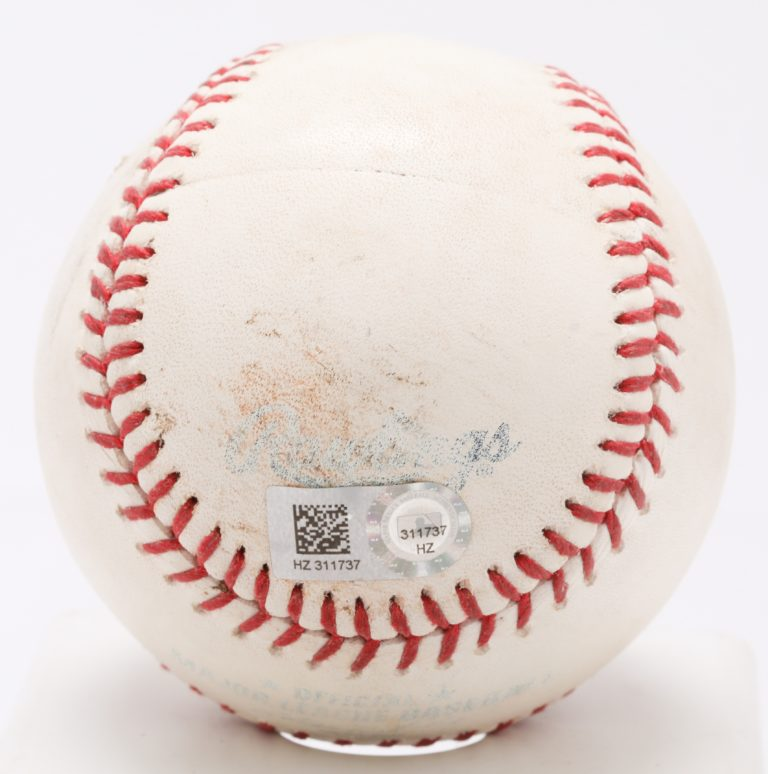 Jacob deGrom Game-Used Ball