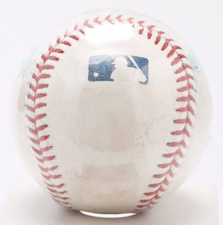 Game-Used Ball from P.J. Conlon Debut