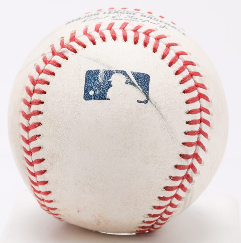 Game Used Ball from 24-Run Game