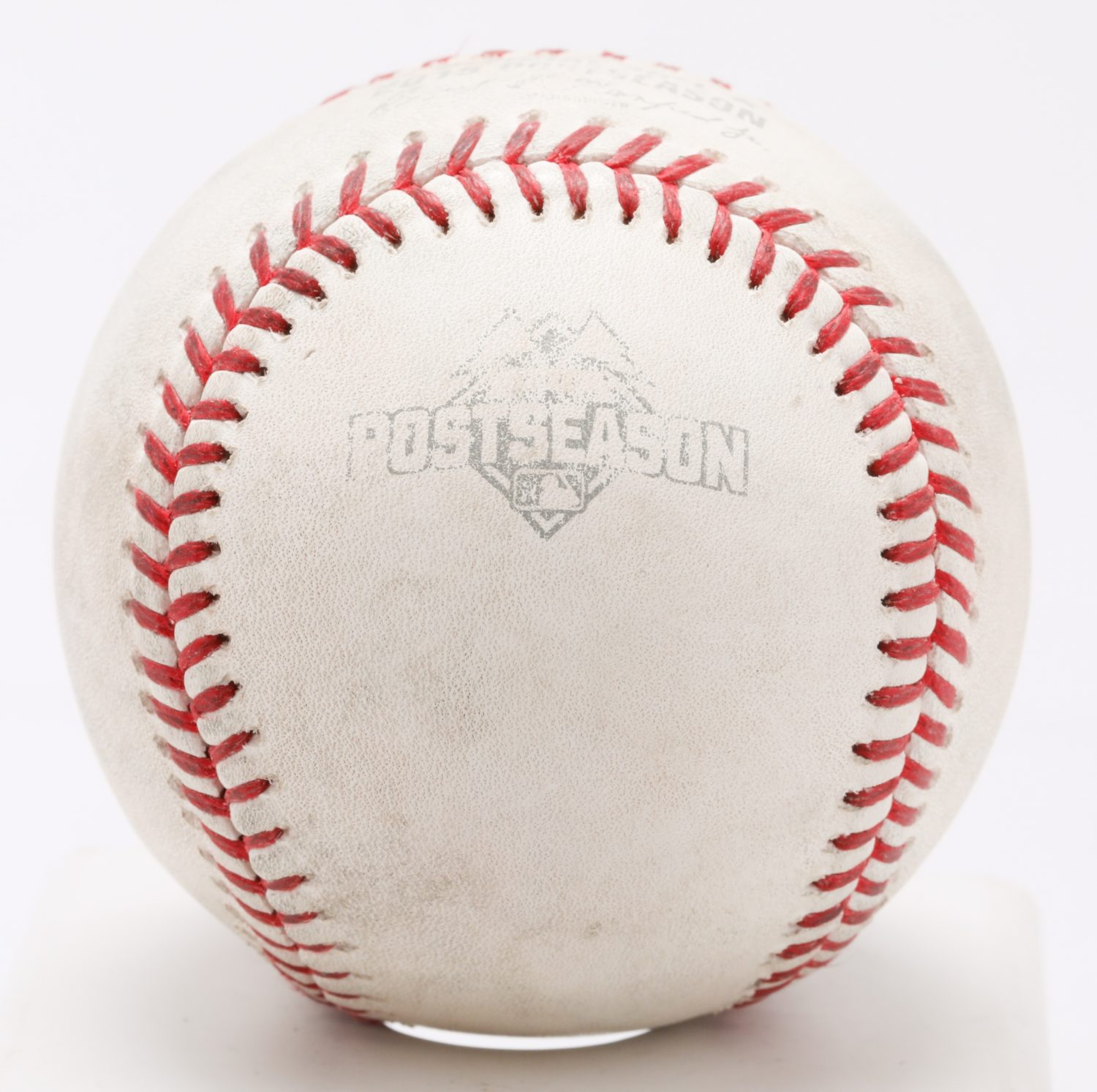 Game-Used Ball from First NLCS at Citi Field