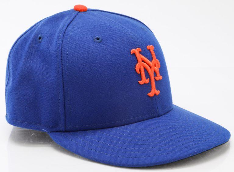 2015 World Series Hat Worn by Yoenis Cespedes
