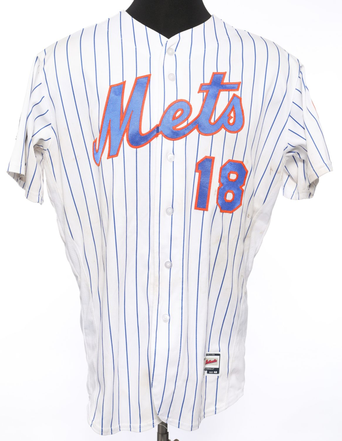 d'Arnaud Jersey from Piazza Retirement Night