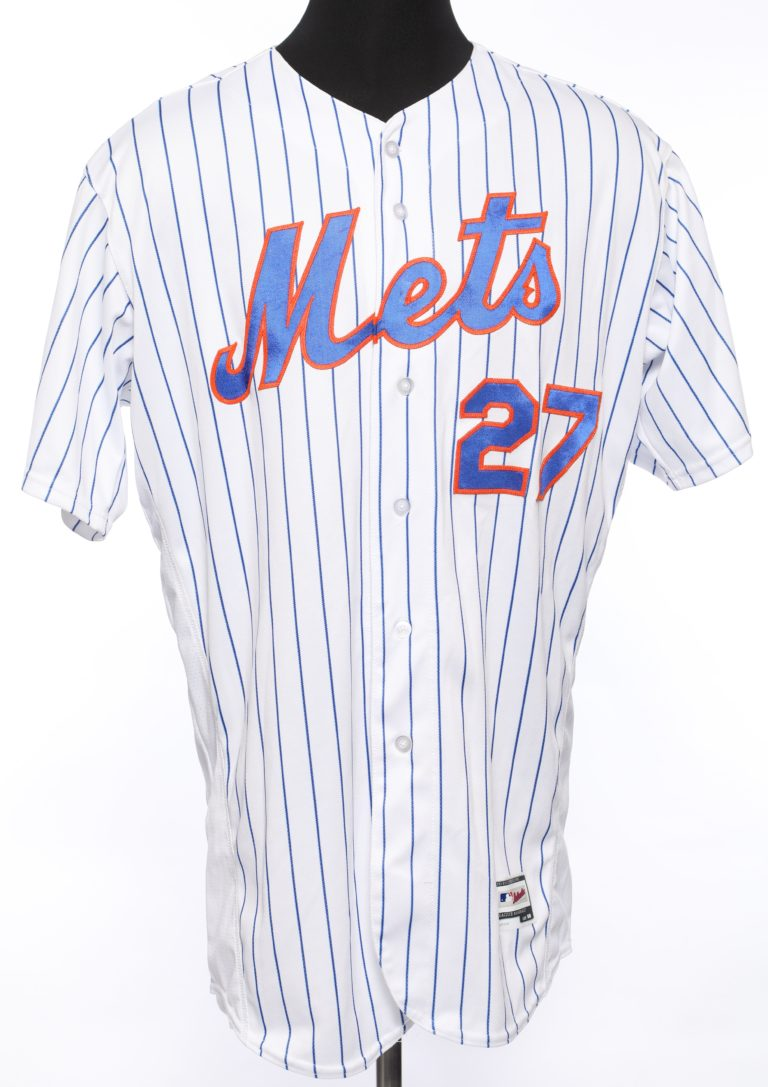 Jeurys Familia Game-Worn Jersey From 44th Save