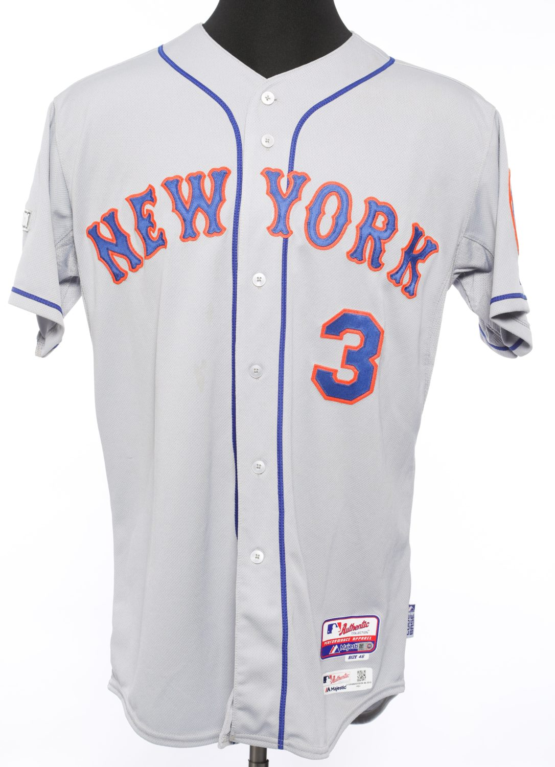 Curtis Granderson 2015 NLDS Jersey - Front View