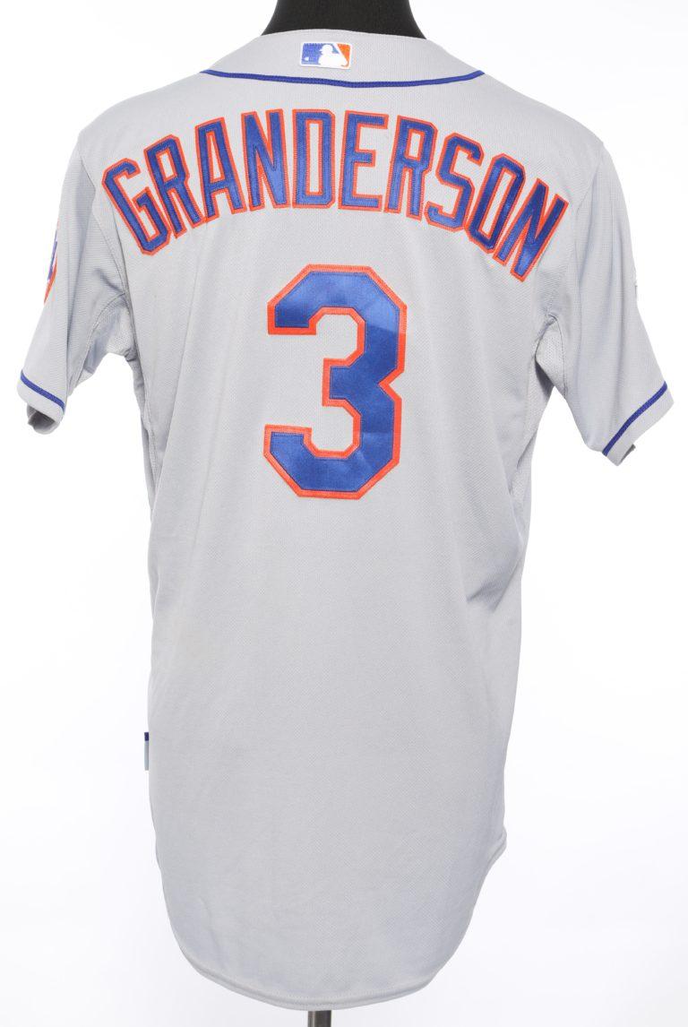 Curtis Granderson 2015 NLDS Jersey - Back View
