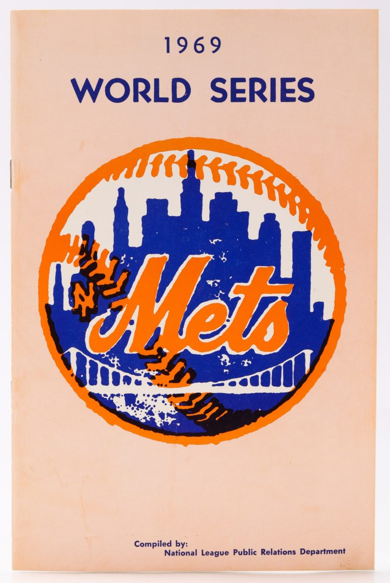 New York Mets 1969 World Series Program