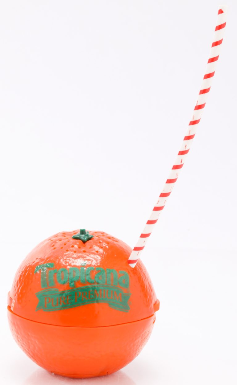 Tropicana Orange-Shaped Promotional Radio