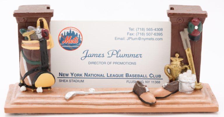 Jimmy Plummer Business Card Holder