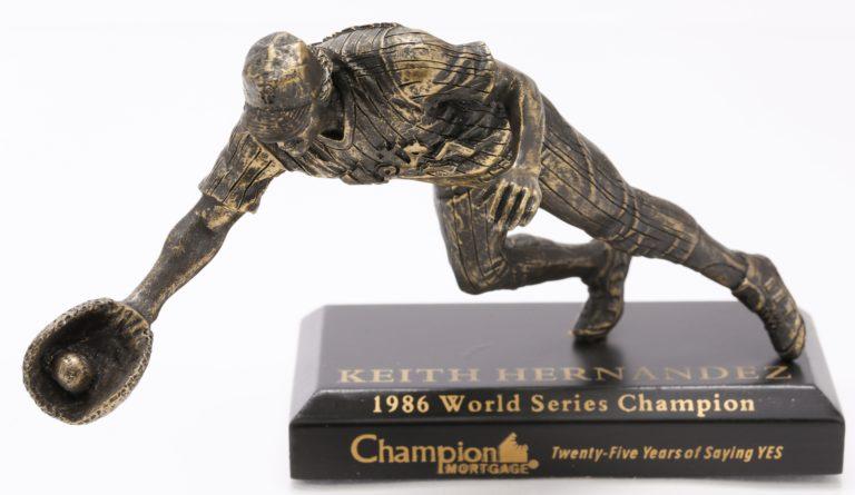 Keith Hernandez World Series Figurine