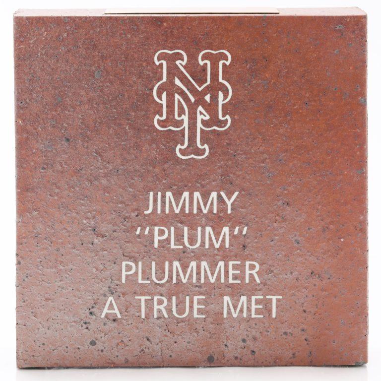 Brick Honors Jimmy Plummer as 'A True Met