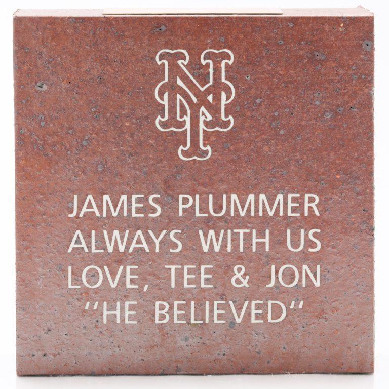 Plummer's Brick: He Believed