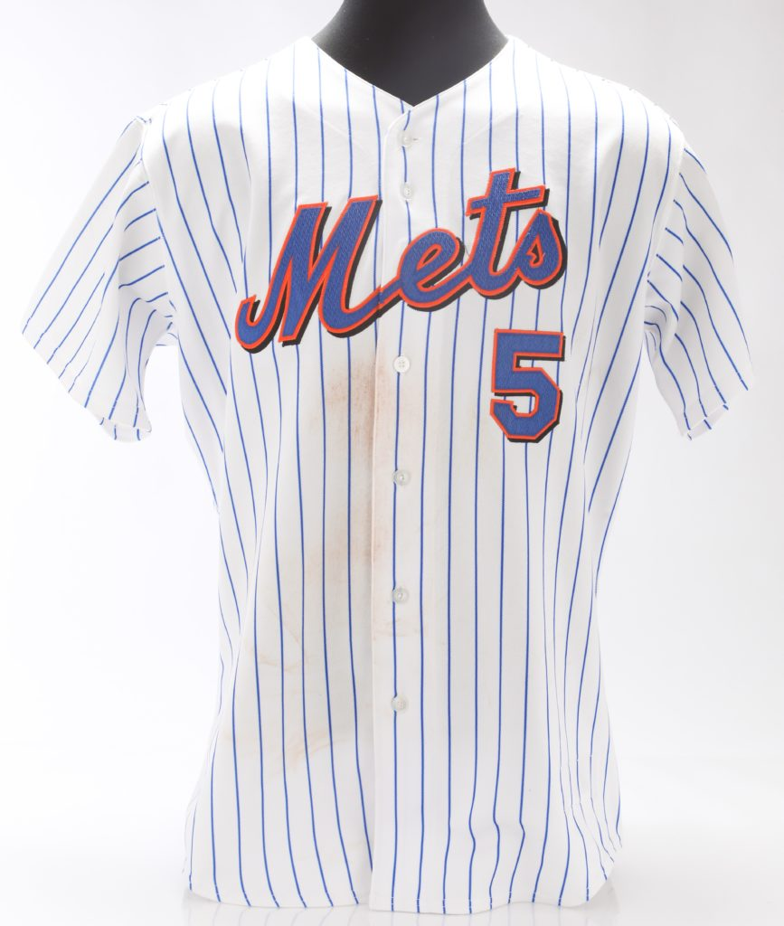 reputable site fba6c fdddf DIRT-STAINED DAVID WRIGHT JERSEY – Mets Vault