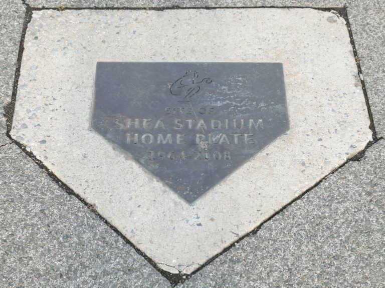 Site of Shea Stadium Home Plate