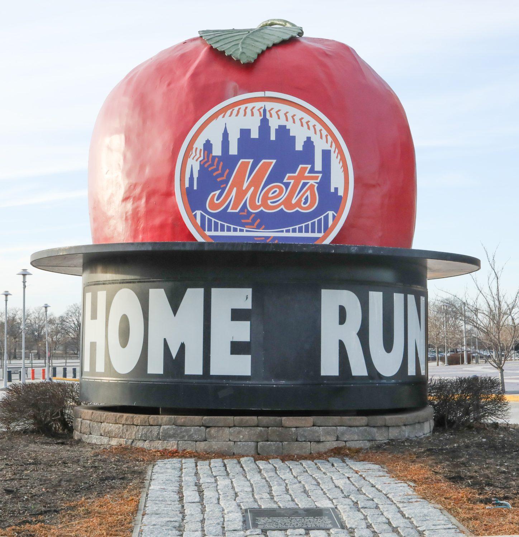 Original Shea Stadium Home Run Apple