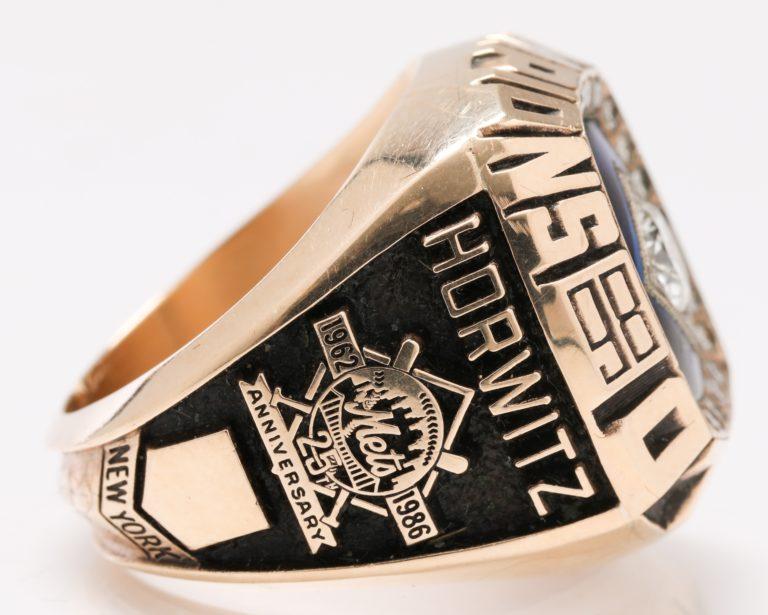 1986 Mets World Series Champion Ring