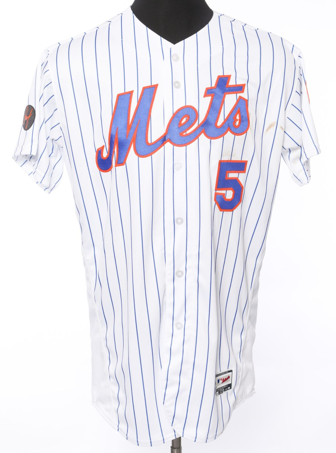 David Wright's Jersey From Final Game As Met