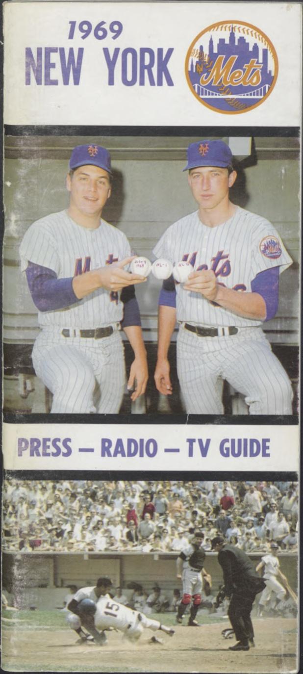 1969 Mets Press-Radio-TV Guide