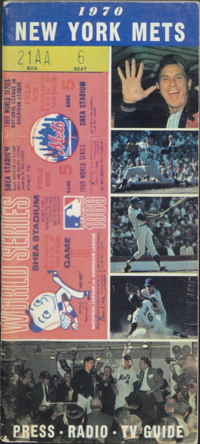 1970 Press-Radio-TV Guide: Celebrating the World Series