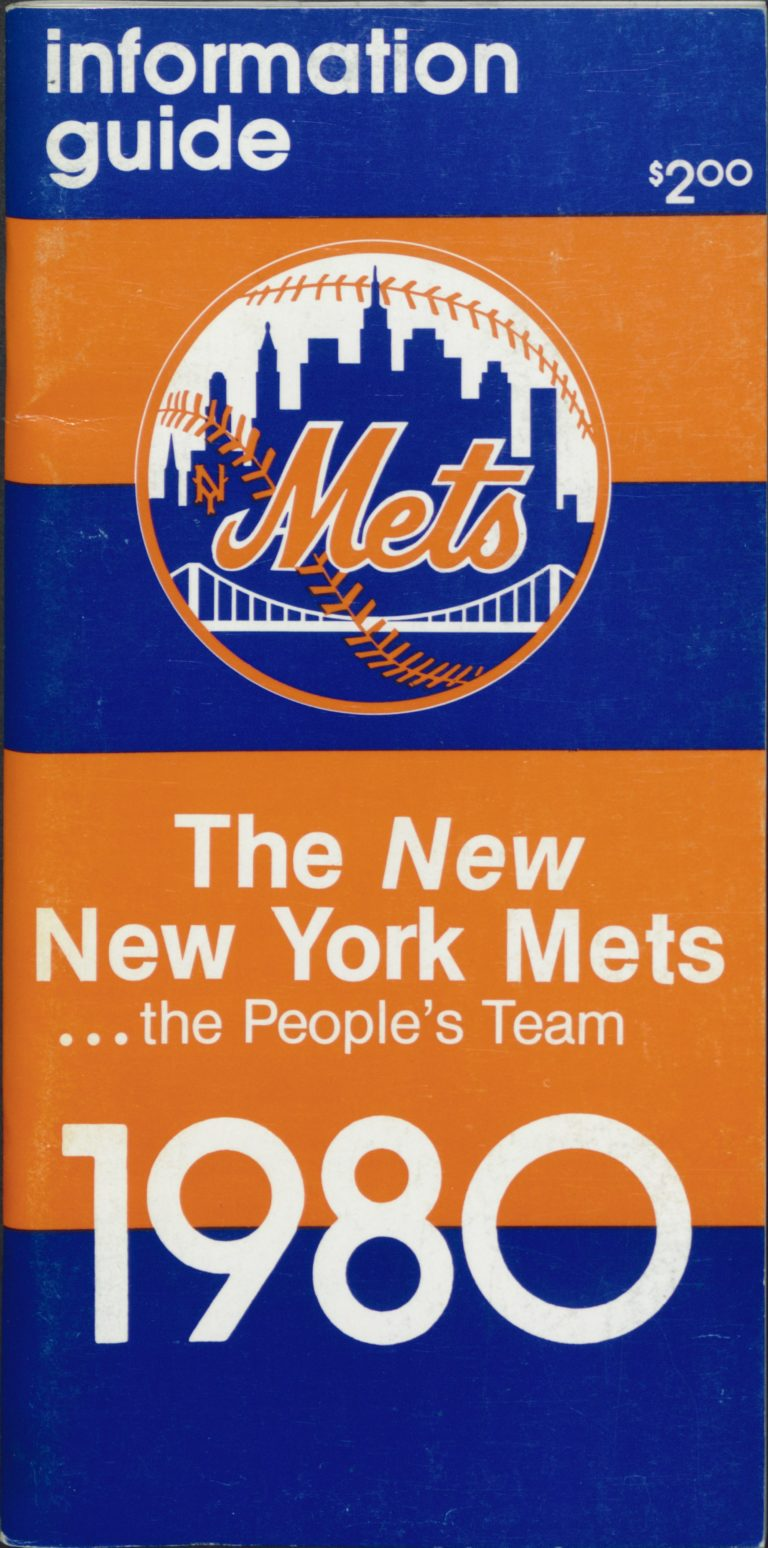 1980 Information Guide: The 'New' New York Mets