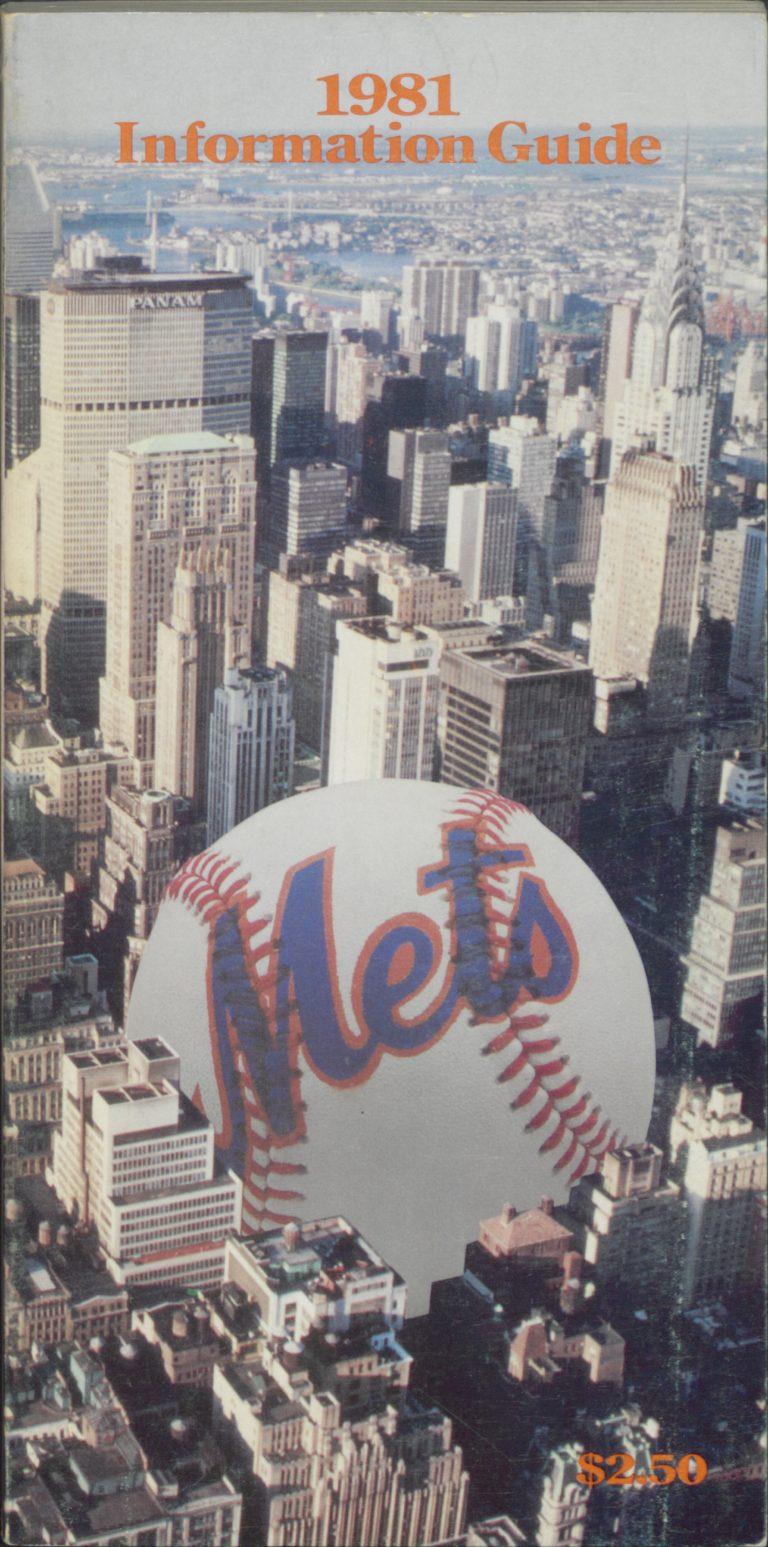 1981 Mets Information Guide