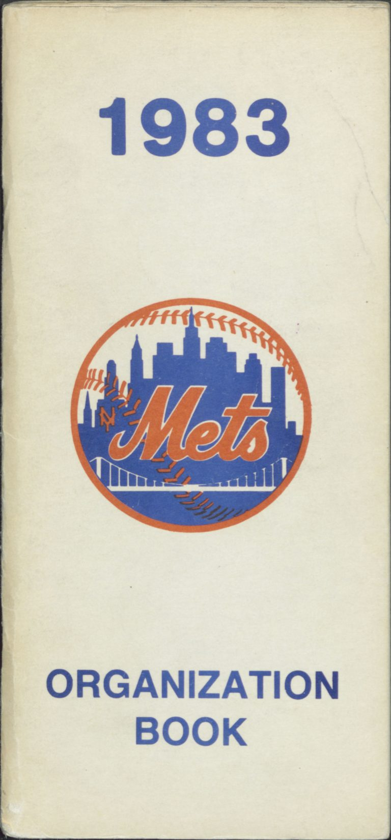 1983 Mets Organization Book