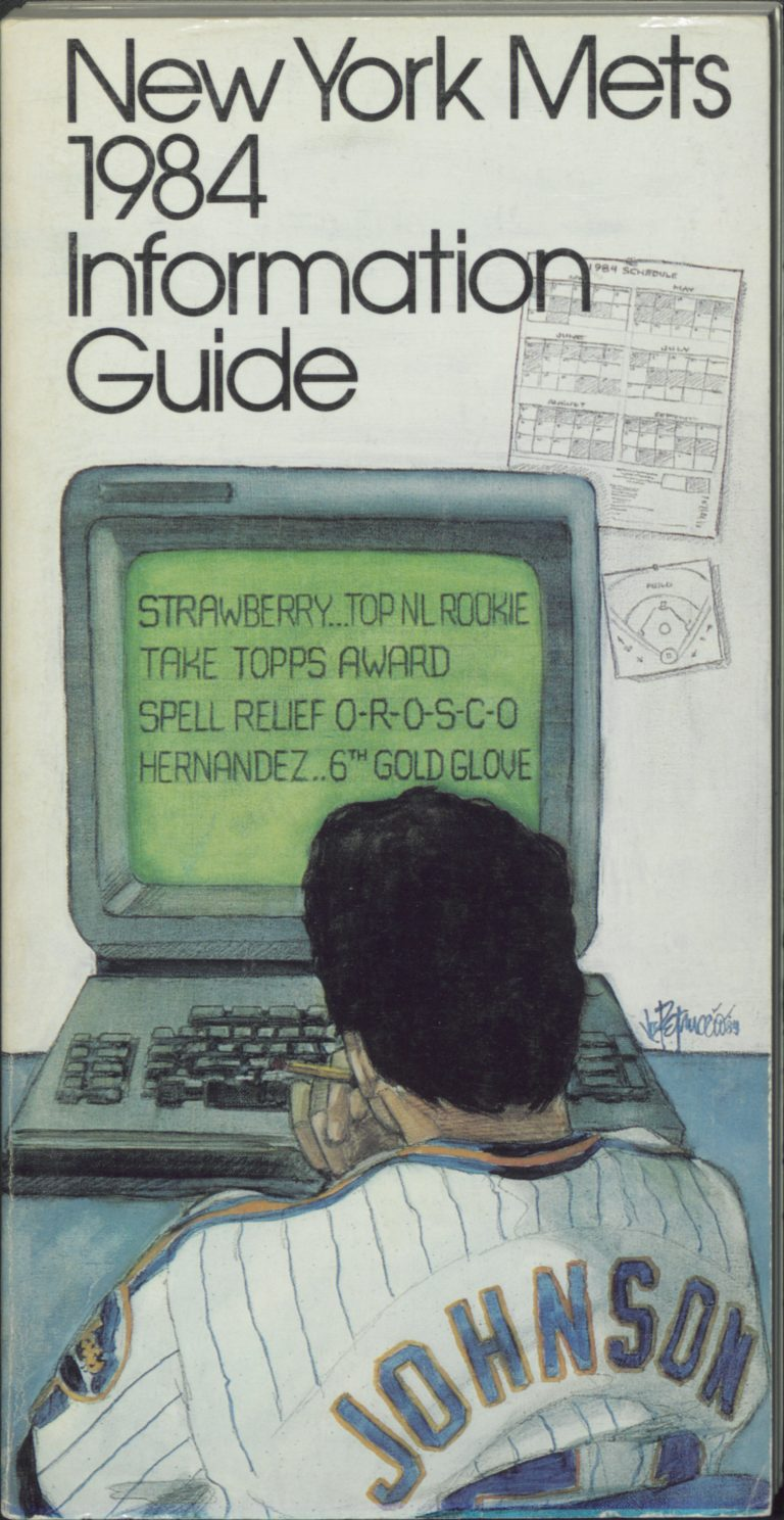 New York Mets 1984 Information Guide