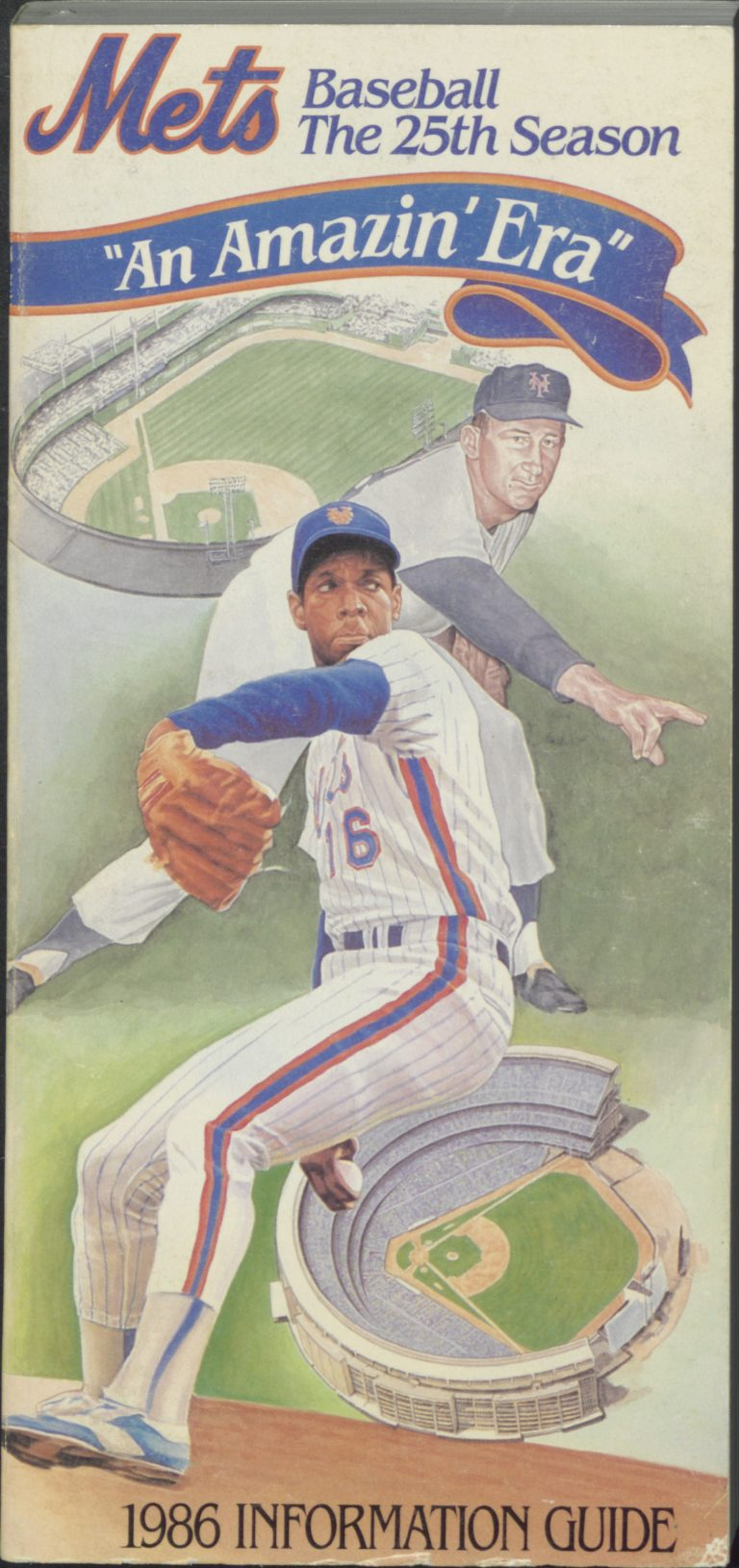1986 Mets Information Guide: 25th Season