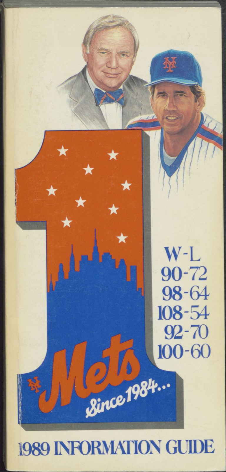 1989 New York Mets Information Guide