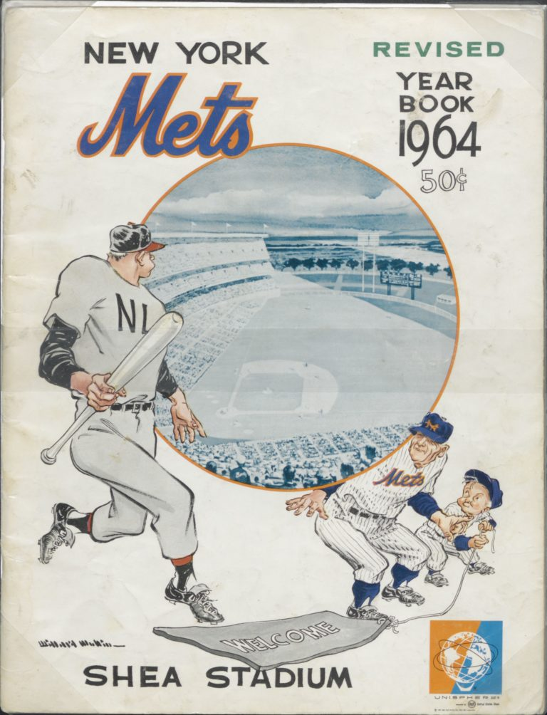 1964 Mets Yearbook: Welcome to Shea Stadium