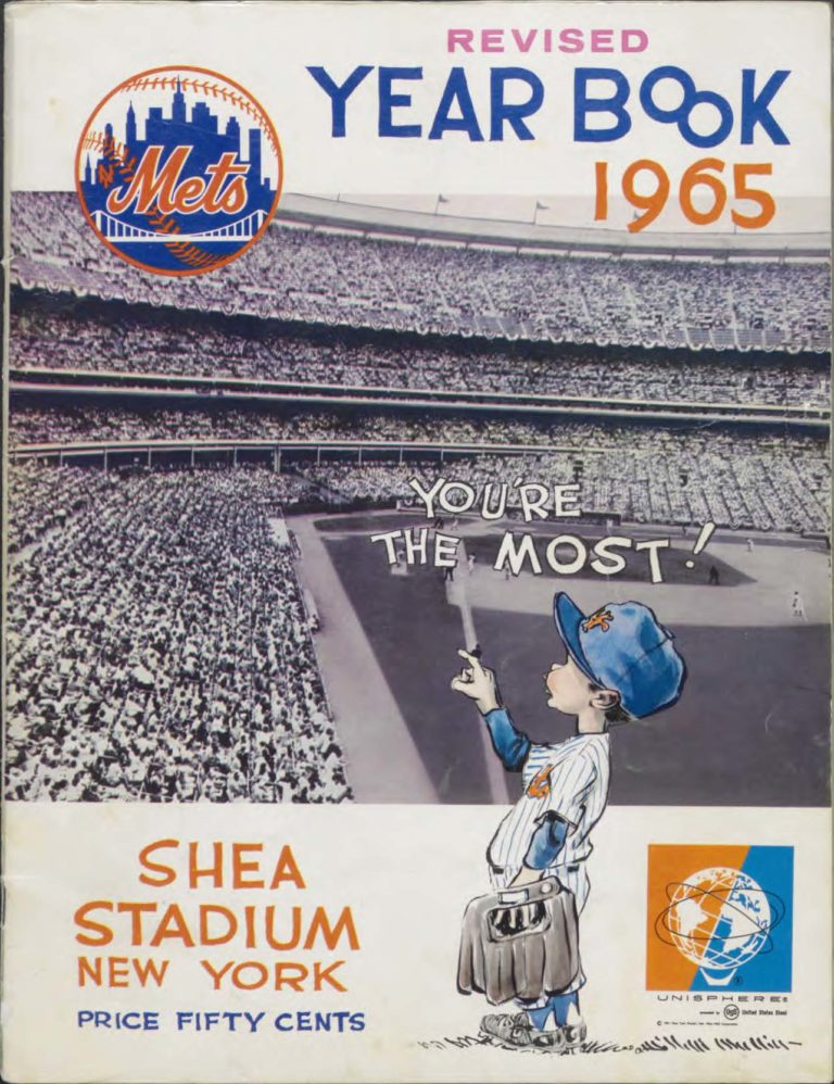 1965 Mets Yearbook Featuring Mr. Met (Revised)