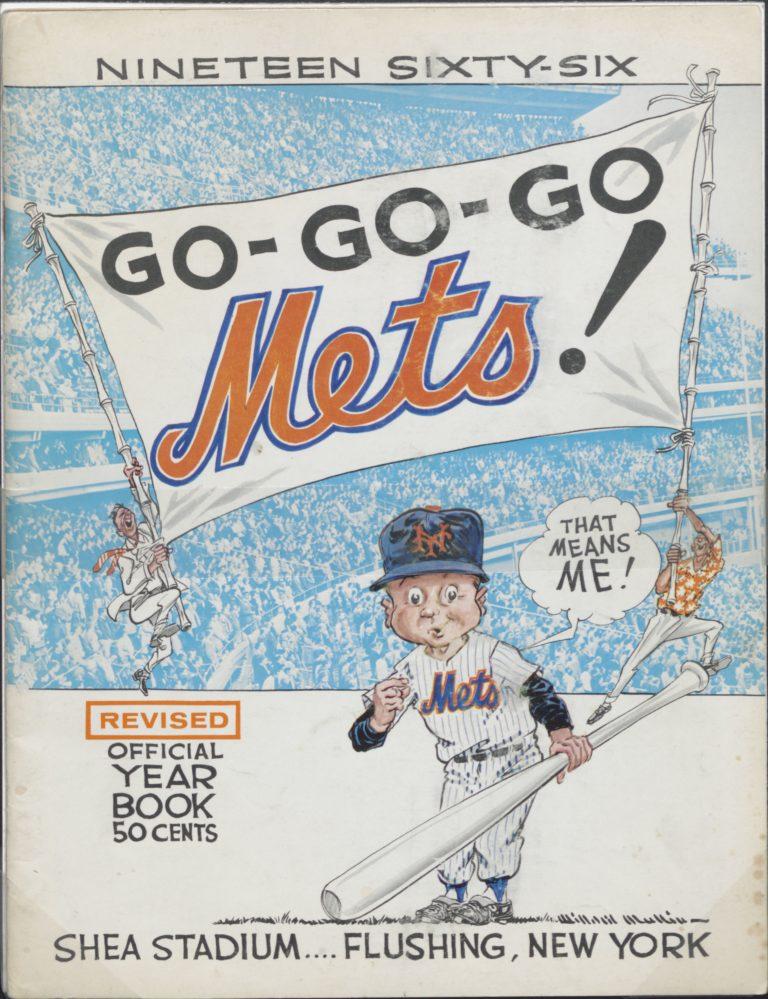 1966 New York Mets Yearbook: Go-Go-Go Mets
