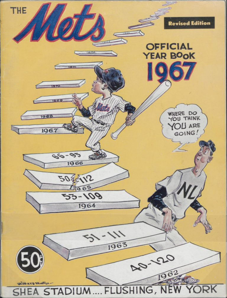 Official 1967 New York Mets Yearbook