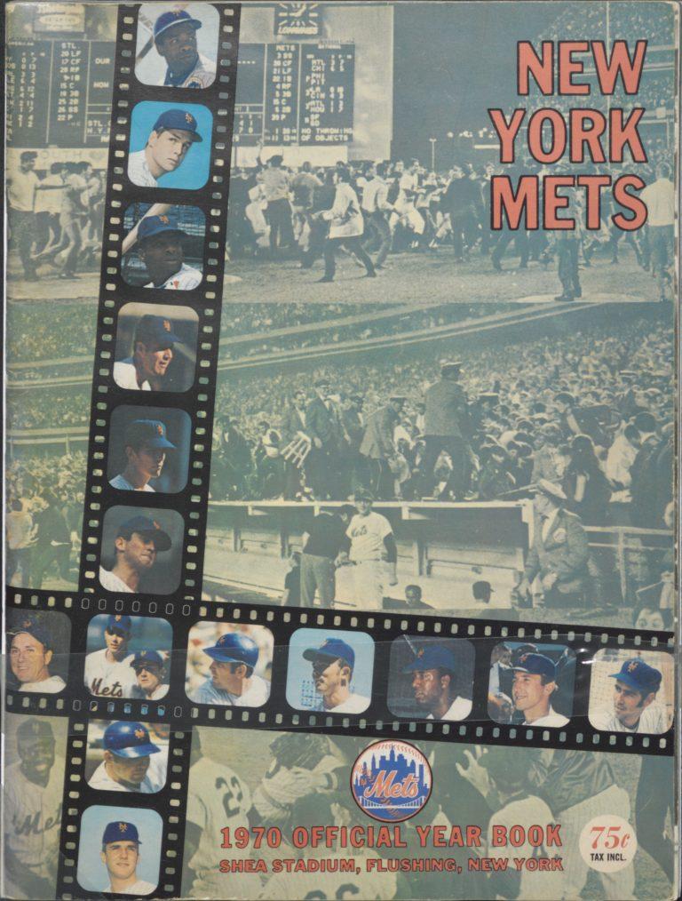 1970 Mets Yearbook: World Champions