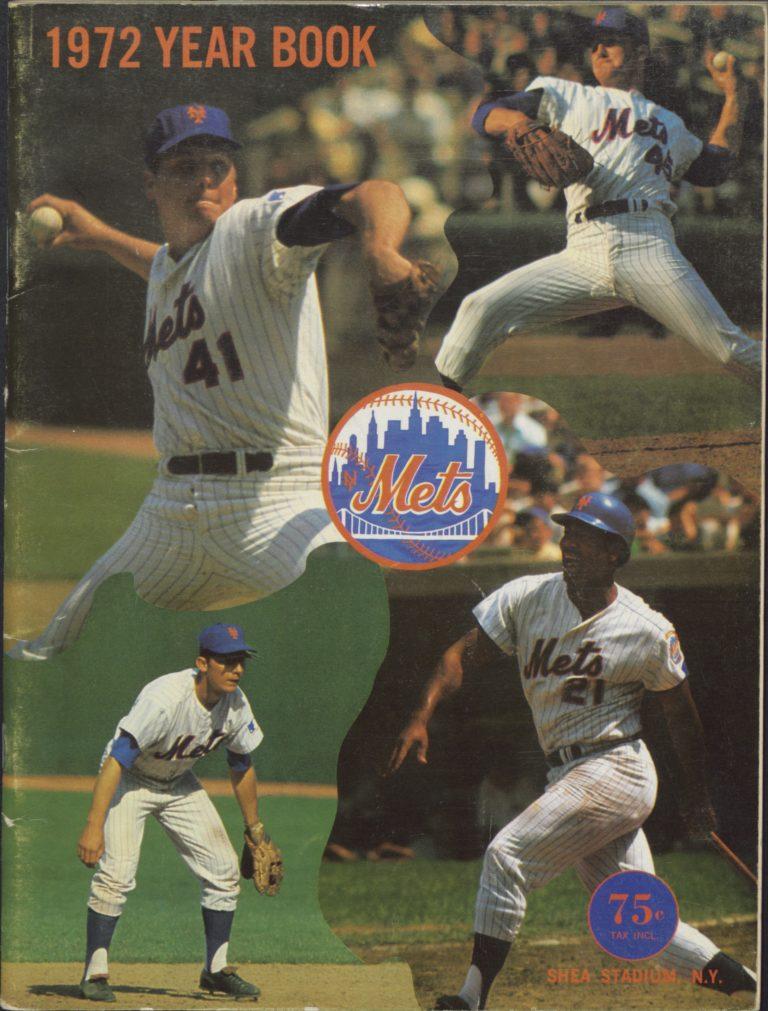 1972 Mets Yearbook: Stars in Action
