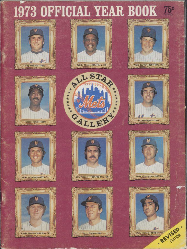 1973 Mets Yearbook: All-Star Gallery