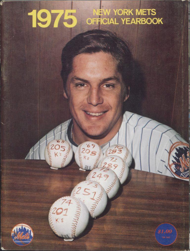 1975 Mets Yearbook: Tom Seaver