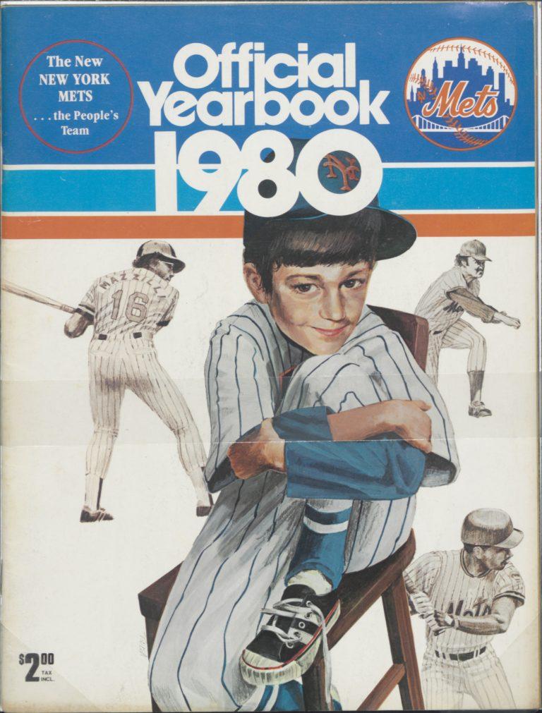 1980 Mets Yearbook: The People's Team