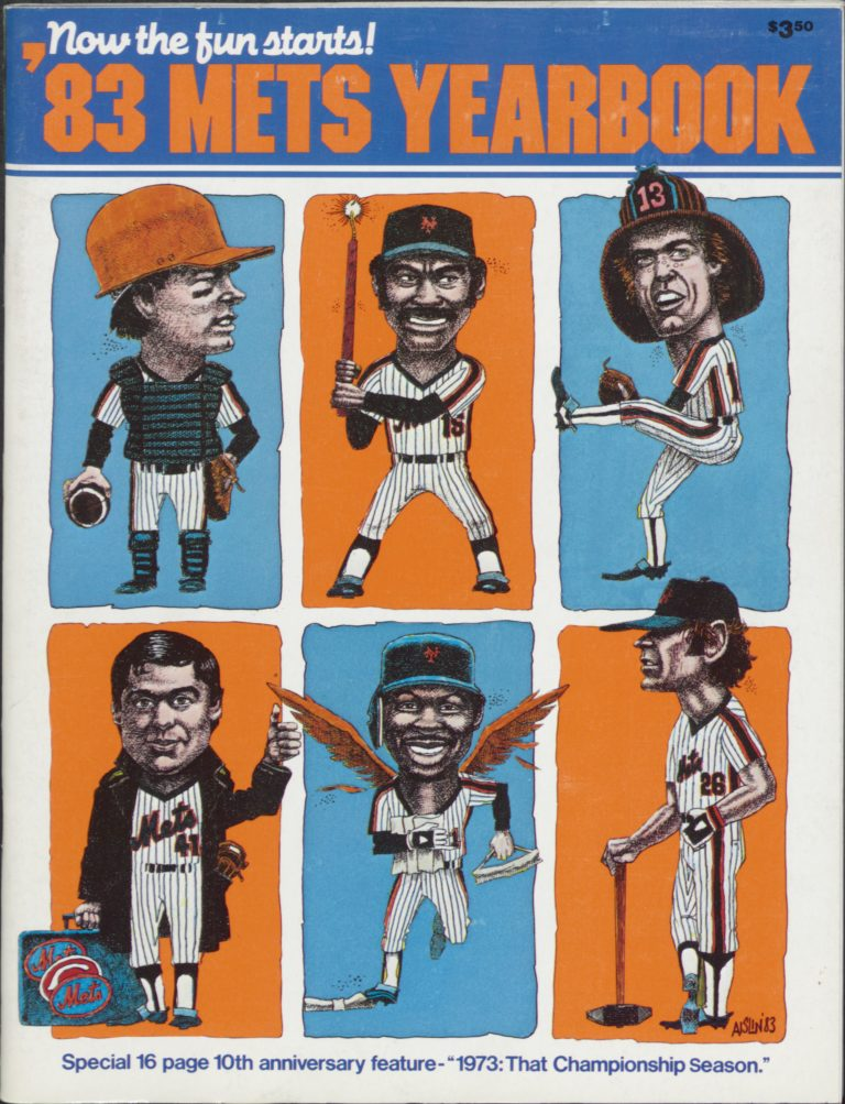 1983 Mets Yearbook: Now the Fun Starts