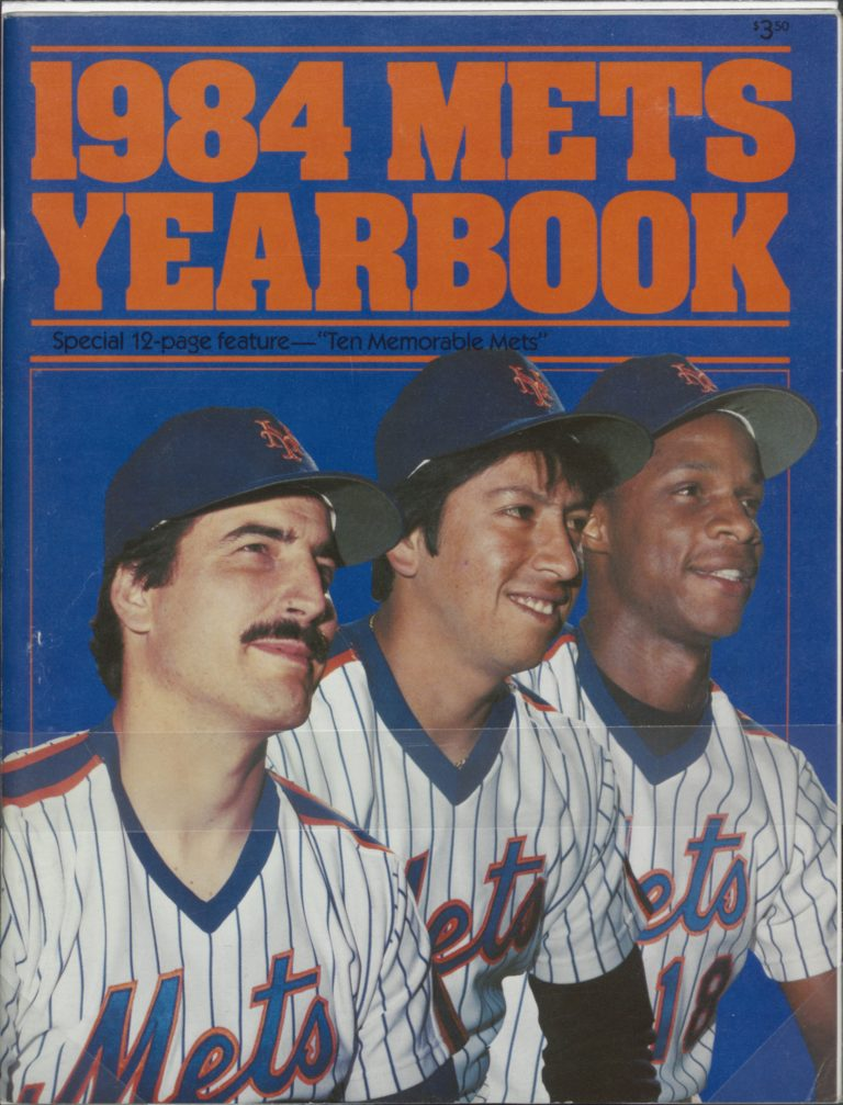 1984 Mets Yearbook: Rising Stars