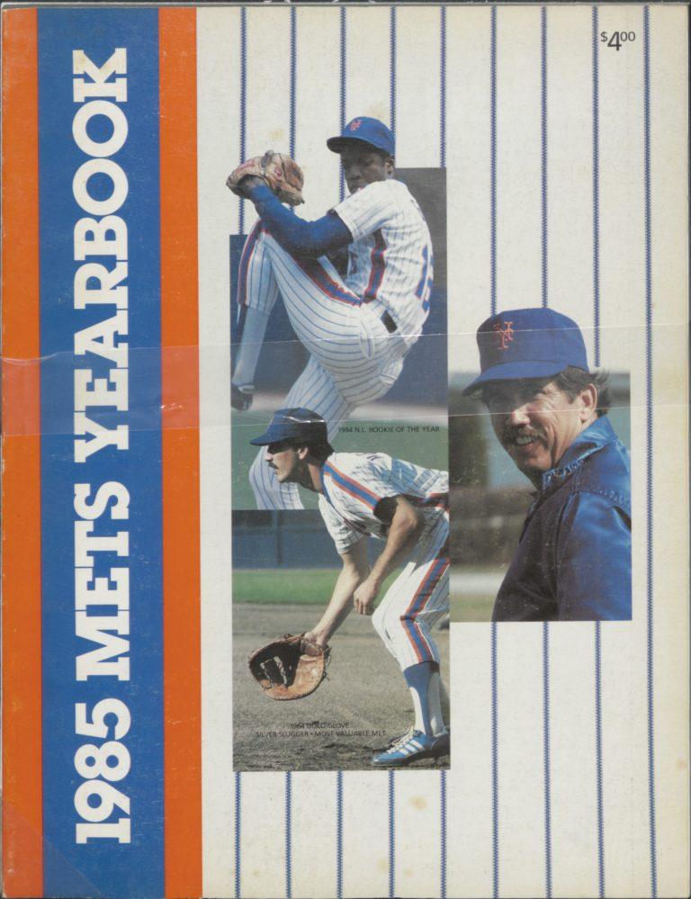 1986 Mets Yearbook: The Doctor is In