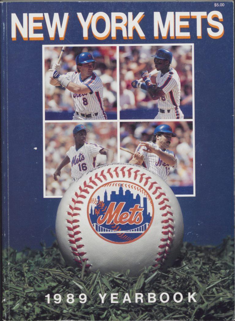 New York Mets 1989 Yearbook