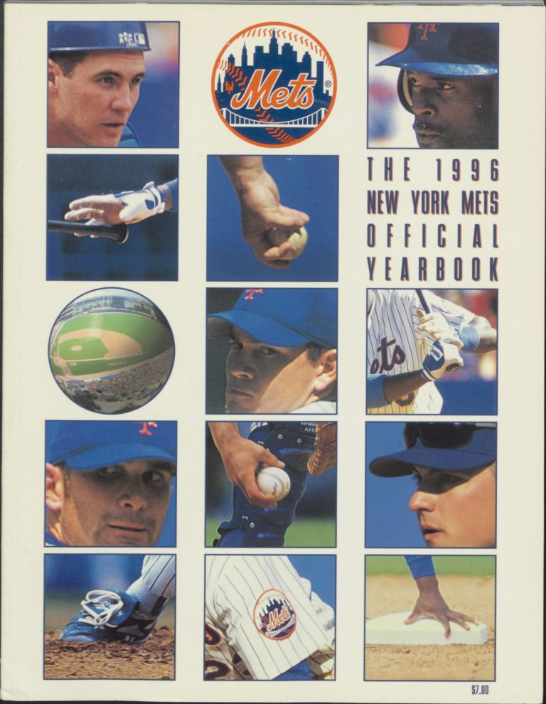 1996 Mets Yearbook