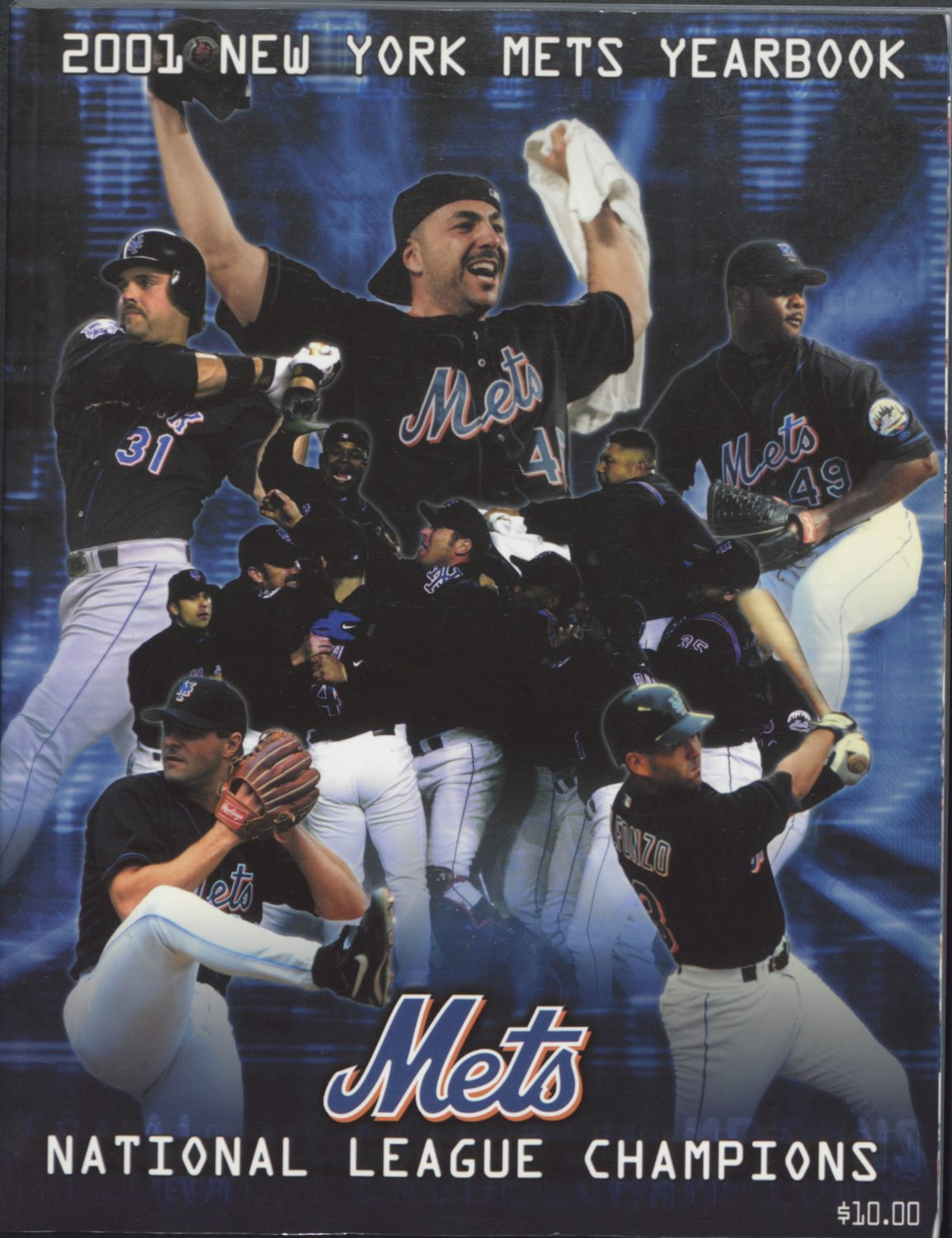 2001 Mets Yearbook: Celebrating 2000 NL Champs